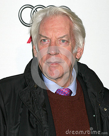 Donald Sutherland Editorial Image