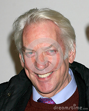 Donald Sutherland Editorial Stock Image