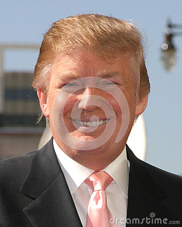 Donald Trump Editorial Stock Photo