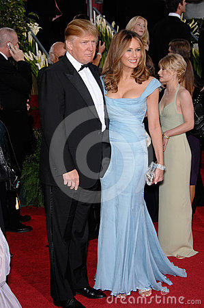 Donald Trump, Melania Trump Editorial Photo