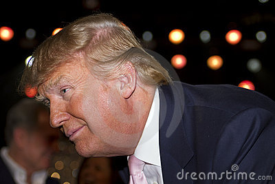 Donald Trump, You re fired! Editorial Stock Image