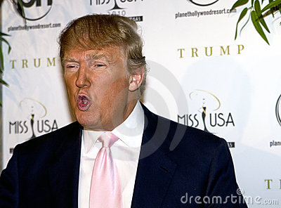 Donald Trump, You re Fired! Editorial Photo