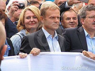 Donald Tusk Editorial Photo