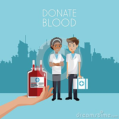 Free Donate Blood Campaign Stock Photography - 118823452