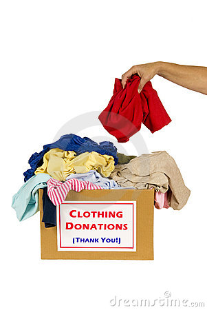 Free Donating Clothes Stock Photos - 18224213