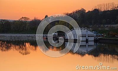 Donau at dusk (HDR)