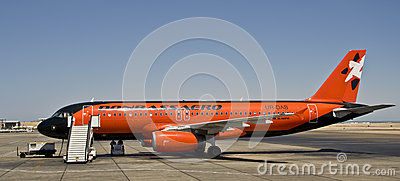 Donbass Aero, Airbus 320 Editorial Photography