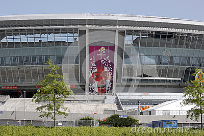 Donbass Arena Editorial Photo