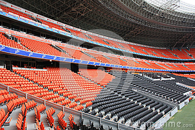 Donbass Arena football stadium. Editorial Image