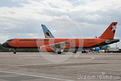 Donbassaero Airbus A320 Editorial Image