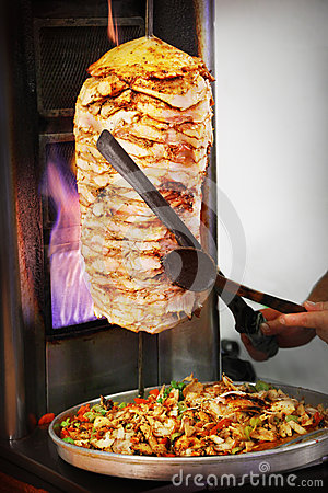 Free Doner Kebab Stock Photo - 26467080
