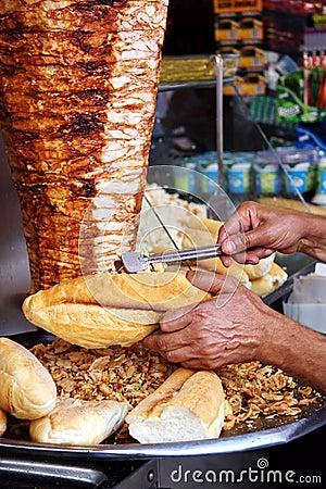 Free Doner Kebab Royalty Free Stock Photo - 9994985