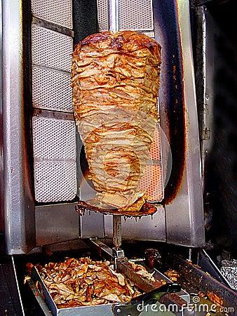 Doner kebab shop
