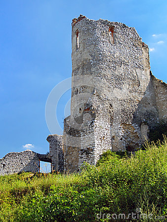 Donjon of The Castle of Cachtice, Slovakia