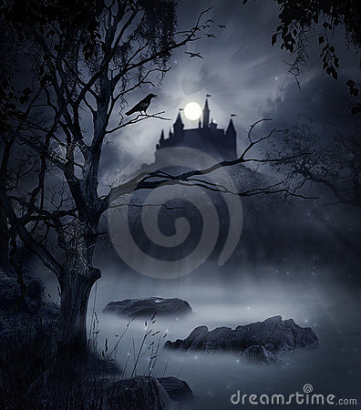 Donkere scène