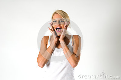 Donna che grida