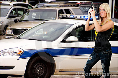 Donna della polizia