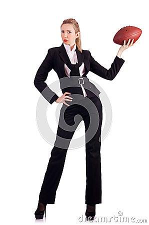 Donna di affari della donna