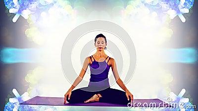 Donna di yoga