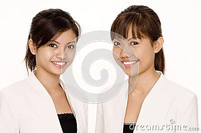Donne nel bianco 1