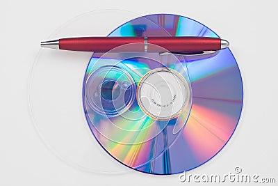 Données cd de copie