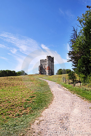 Donnington Castle in England