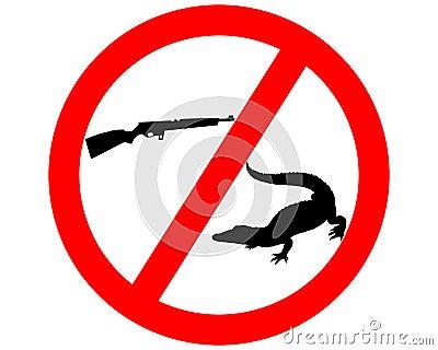 Don�t shoot crocodile