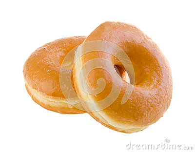 Donut. classic donut isolated on background