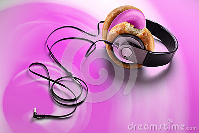 Donut earphone