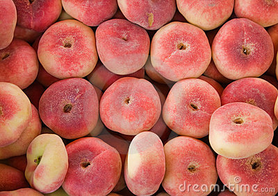 Donut peaches for sale