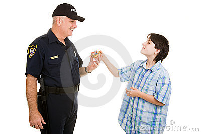Donut for Policeman