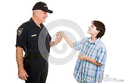 Donut for Policeman