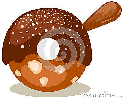 Donut stick