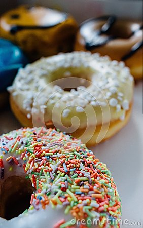 Free Donuts Royalty Free Stock Photo - 55161865