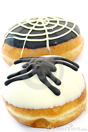 Free Donuts For Halloween Royalty Free Stock Image - 21514456