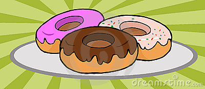 Donuts illustrations