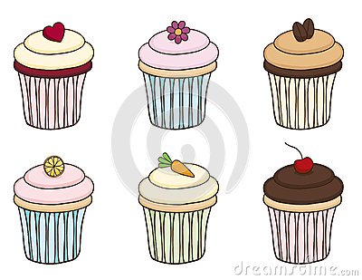 Комплект пирожного Doodle