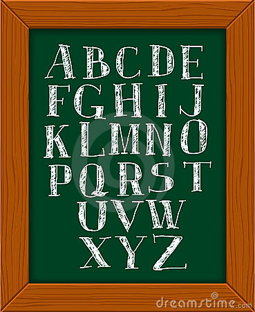 Doodle alphabet.