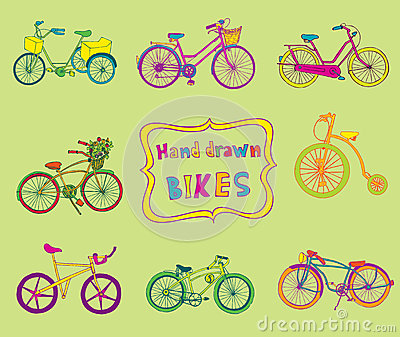 Doodle Bicycles