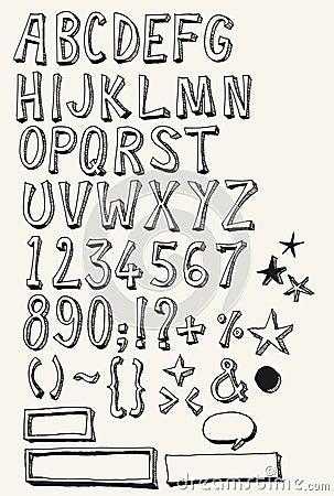 Doodle Complete Alphabet Set