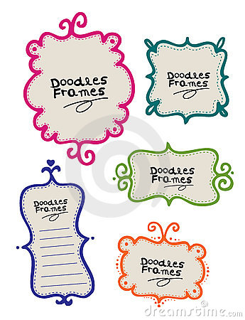 Free Doodle Frames Stock Photography - 15390662