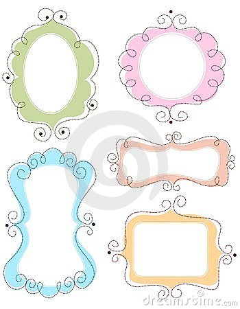 Free Doodle Frames Stock Images - 24180884