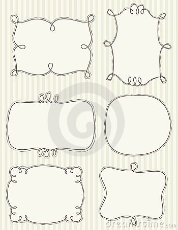 Free Doodle Frames Stock Photo - 24180920