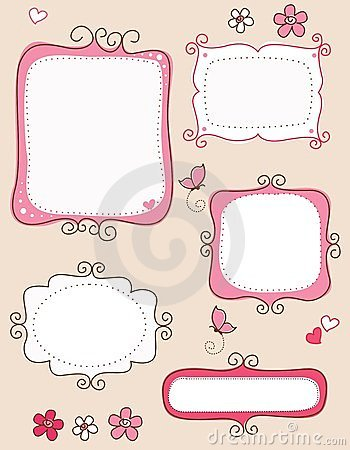 Free Doodle Frames Stock Photography - 24180952