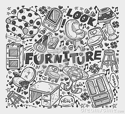 Doodle Furniture element