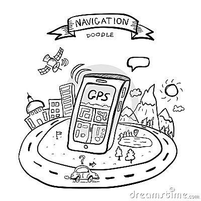 Doodle gps navigation