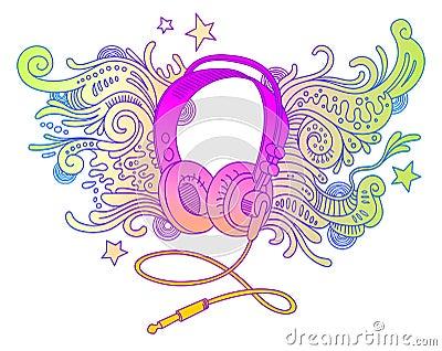 Doodle headphones