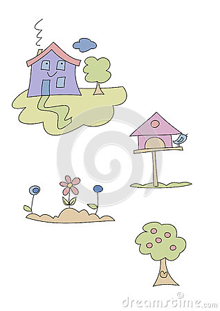 Doodle Set: Home and Garden