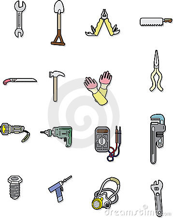 Doodle tool element Editorial Stock Image