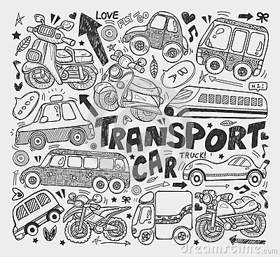 Doodle transport element